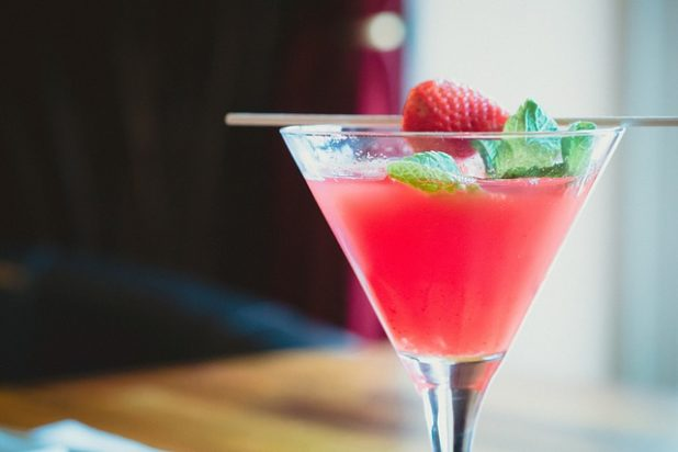 Cocktail Erdbeere